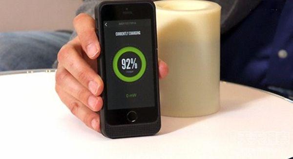 iPhone充电92%