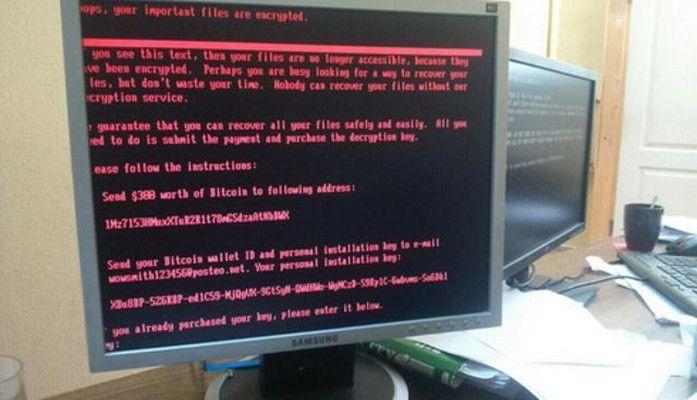 Petya电脑病毒