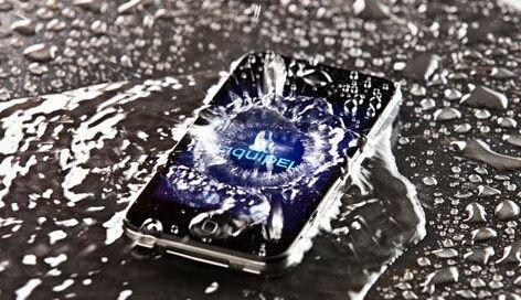 捞出iPhone
