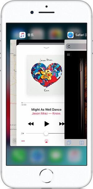 苹果手机iPhone XS/XS Max如何切换app?iPhone 8 及之前的机型如何切换应用呢?