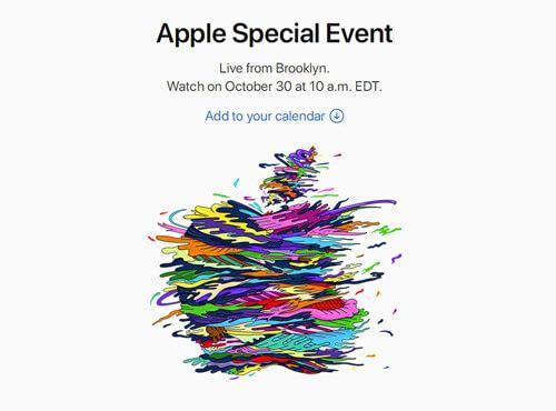 官宣苹果10.30举行新品发布会:将推出入门MacBook或MacBook Air