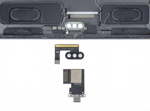 11英寸iPad Pro拆解:电池方便更换,接口模块化